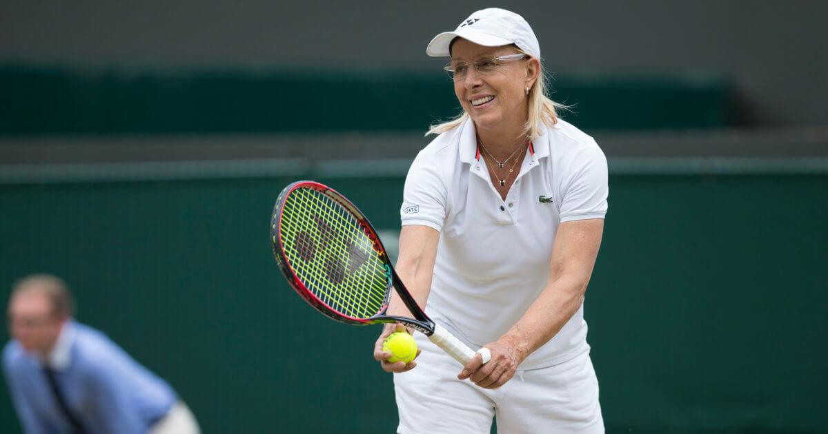 My Toughest Opponent: Tennis Legend Martina Navratilova