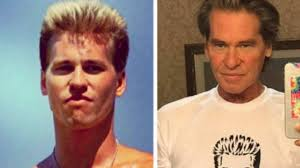 Val Kilmer has two pictures of himself that are 33 years apart