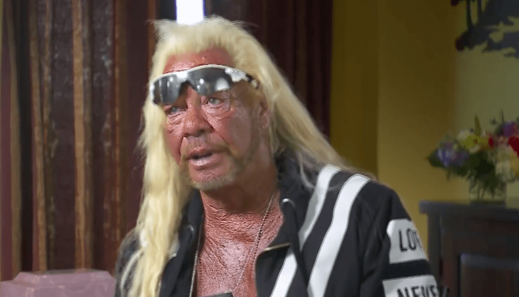 "Duane ""Dog the Bounty Hunter"" Chapman during his first interview since losing his beloved wife Beth to cancer"