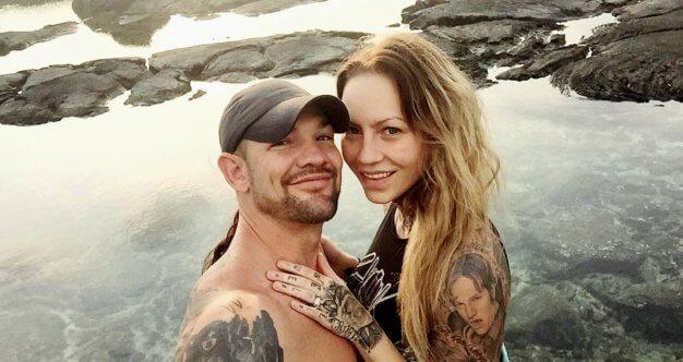 Beth Chapmans Heavily Tattooed Daughter Jamie Grieves In