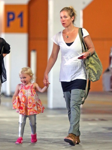 Christina Applegate walking with her daughter Sadie