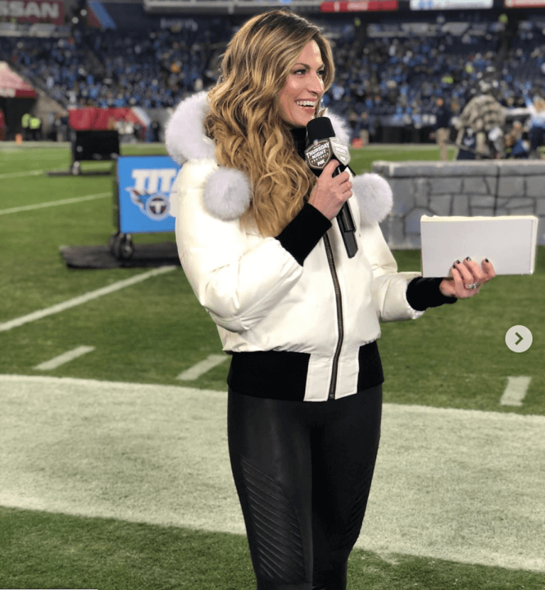Erin Andrews hears that 17 million people have watched the
