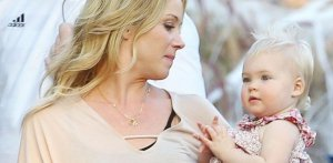 Christina Applegate with her daughter Sadie