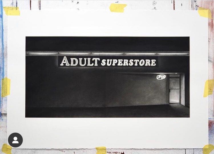 "Eric Nash art reading ""adult superstore"""