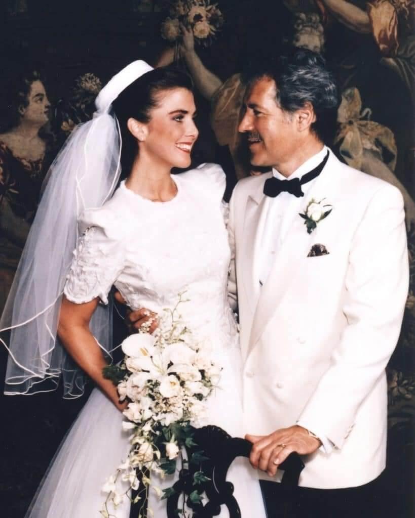 Alex and Jean Trebek wedding photo