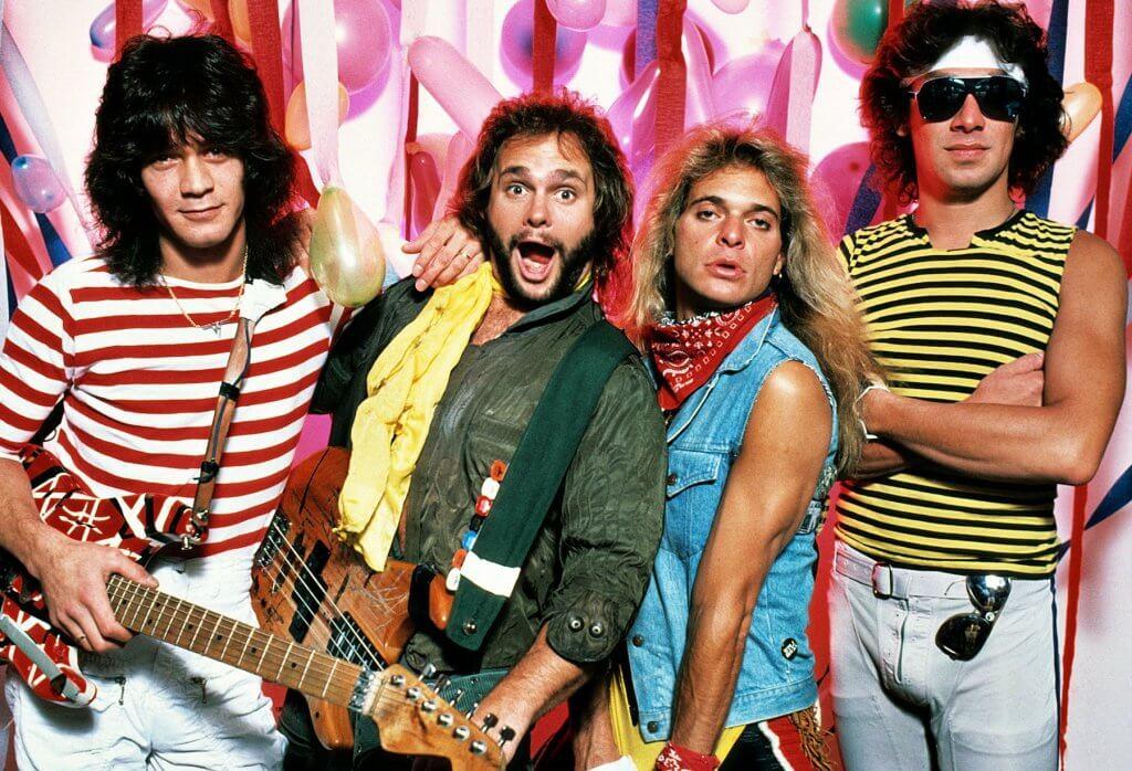 Eddie Van Halen in the early days
