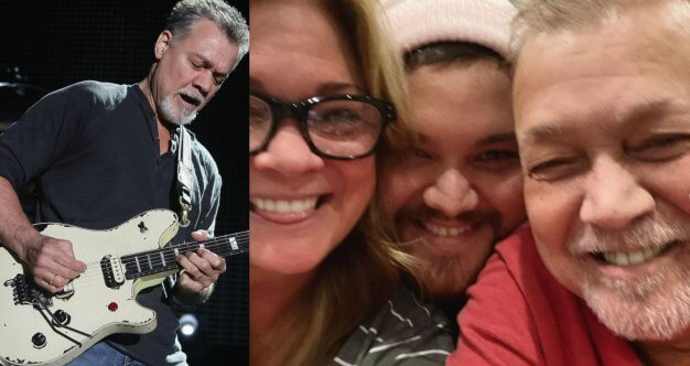 Family, Smiles, and Selfies -- Eddie Van Halen's Son Posts ...