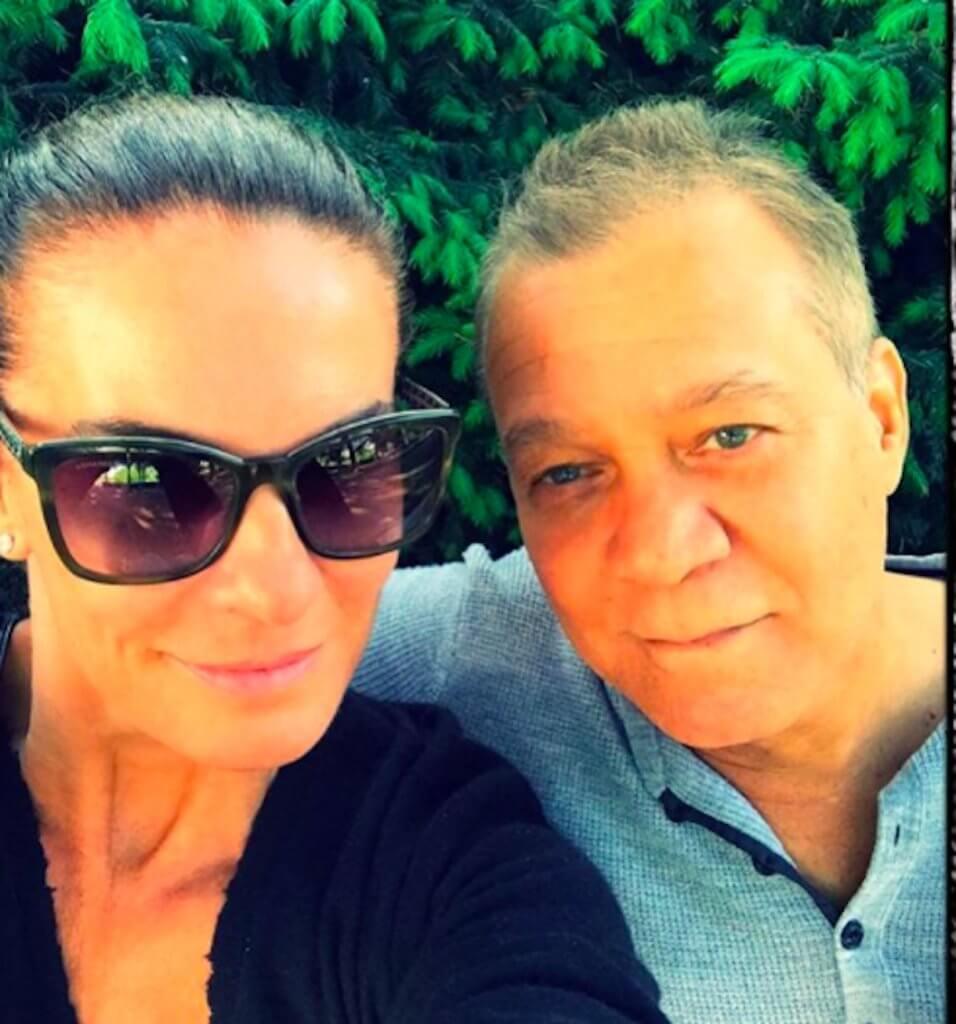 Eddie Van Halen and his wife Janie Liszewski Van Halen in a selfie
