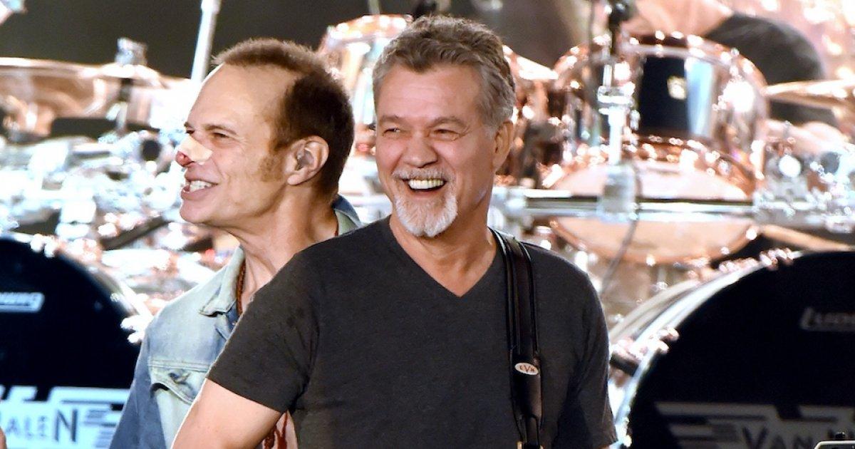As Rocker Eddie Van Halen 65 Fights Throat Cancer His Wife Janie Van Halen Hints At Film Project I Love Directing Survivornet