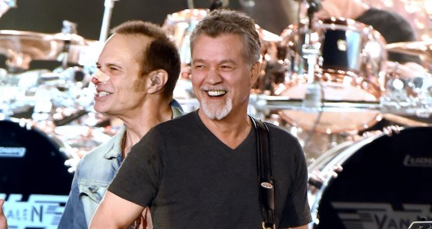 As Rocker Eddie Van Halen 65 Fights Throat Cancer His Wife Janie Van Halen Hints At Film Project I Love Directing Survivornet