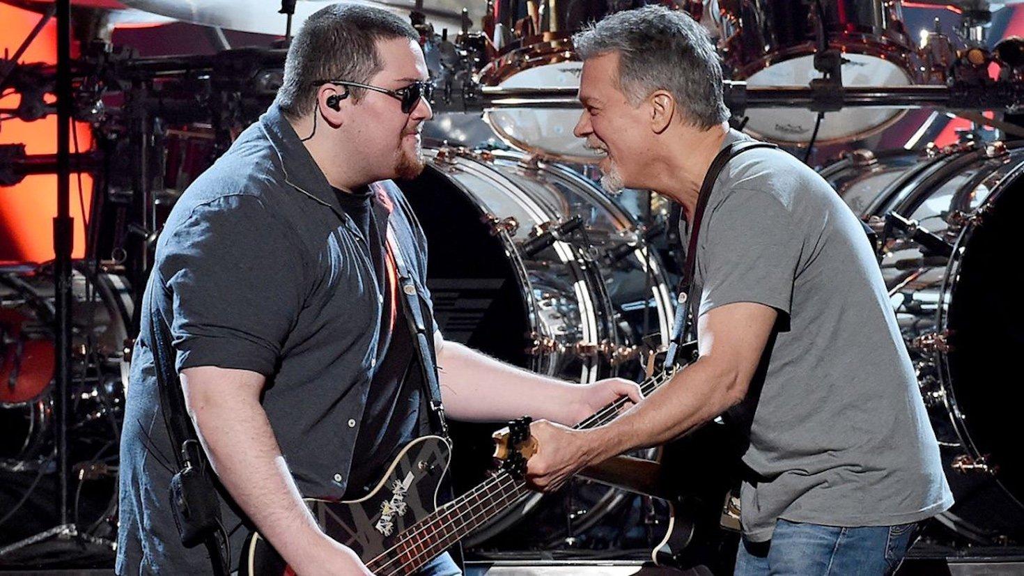 Eddie Van Halen S Son Wolf Reveals What Dad Taught Him Survivornet