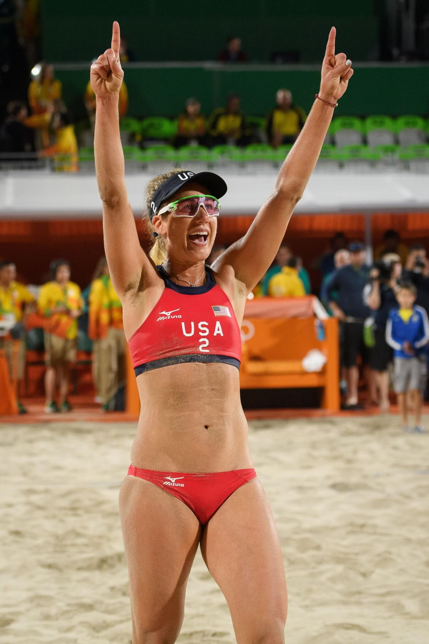 Olympian and Beach Volleyball Star April Ross Channels Her